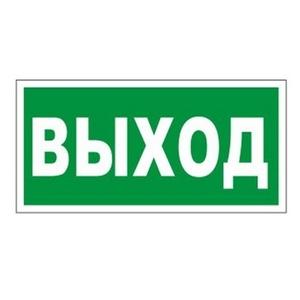 """Знак """"Выход"""", аварийного освещения 220 В"""